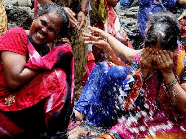 L'India cambia con la pioggia