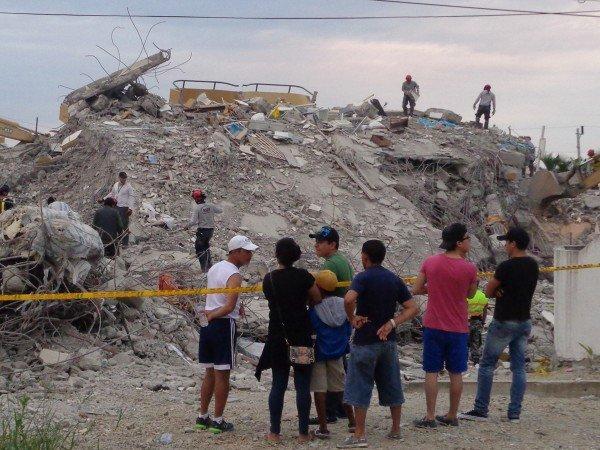 #SIAMOECUADOR: l'impegno post sisma