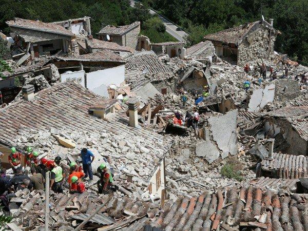 Terremoto: il nostro sostegno alle popolazioni colpite