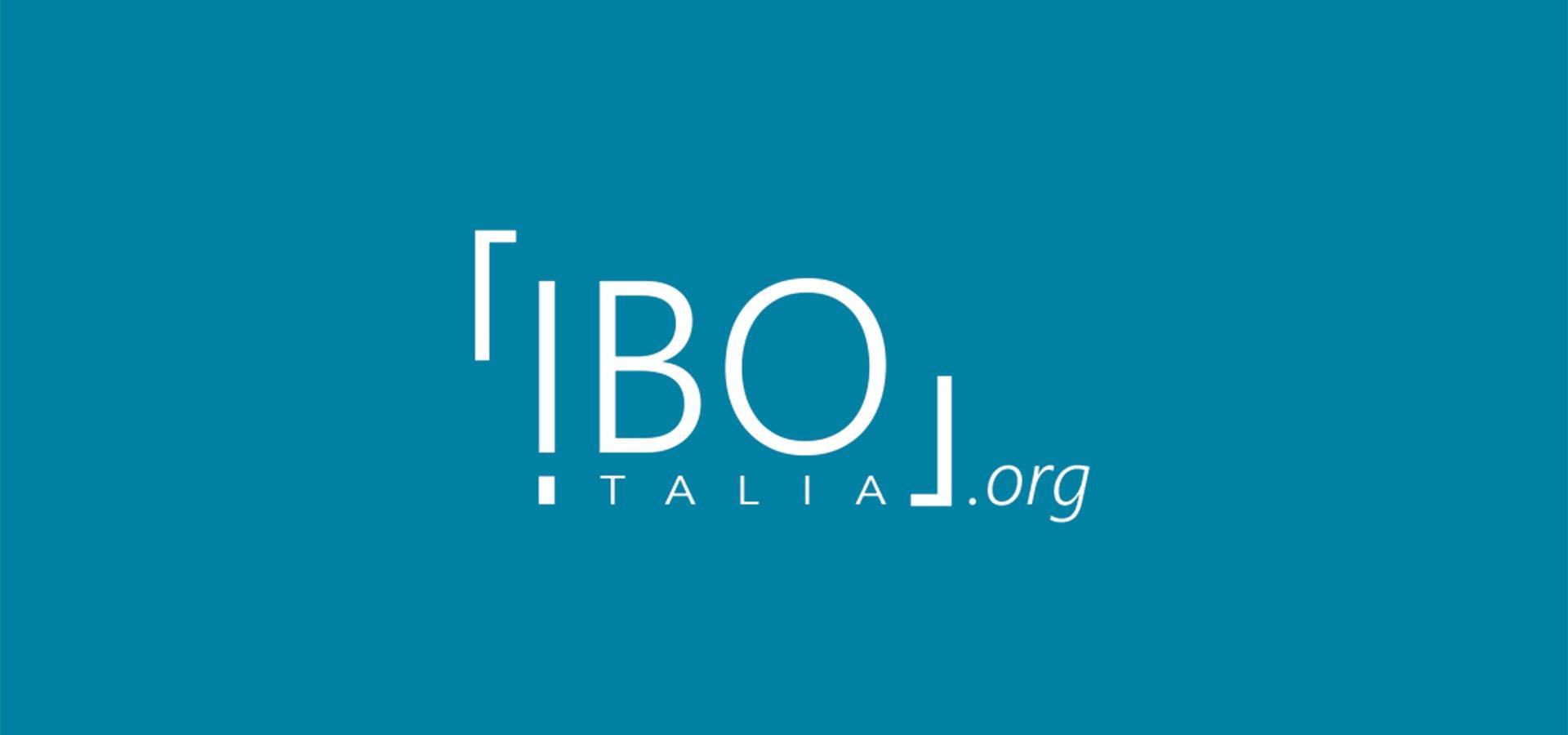 nuovo logo ibo italia home