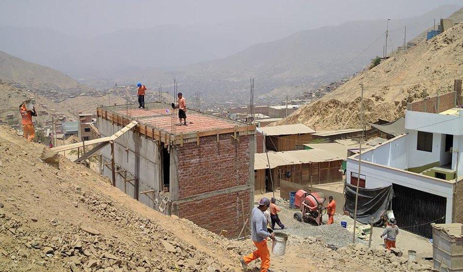 huaycan-costruzione
