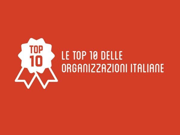 Top 10 ONG Italiane: ci siamo anche noi!