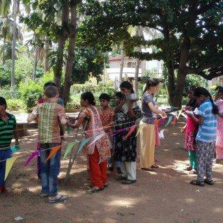 volontariato estero india