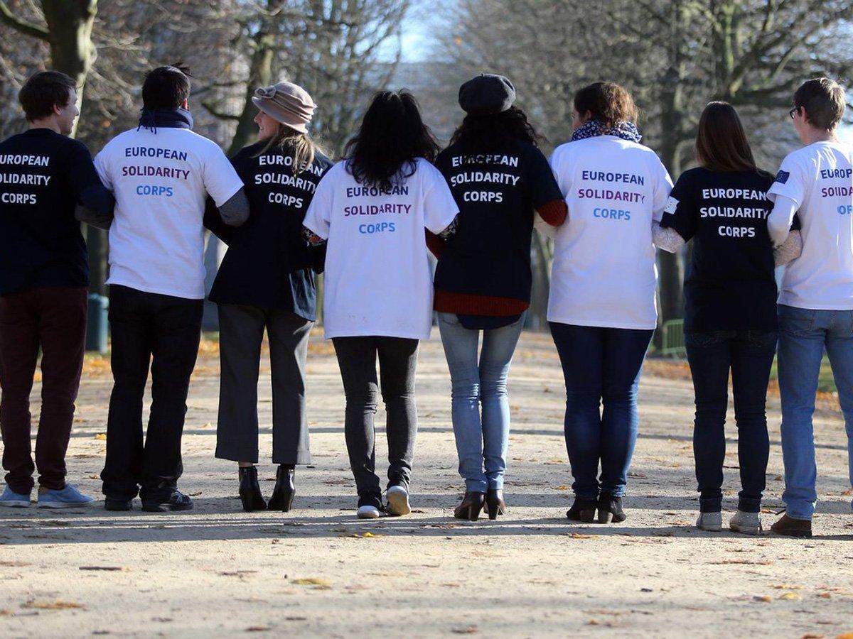 corpi europei di solidarieta