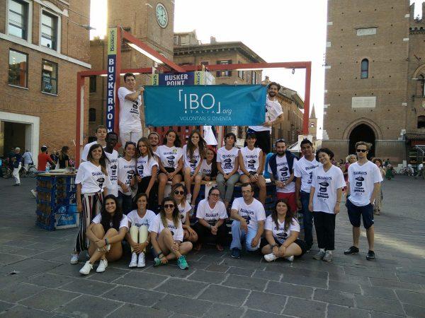 Buskers Festival: volontari da tutto il mondo a Ferrara con IBO Italia