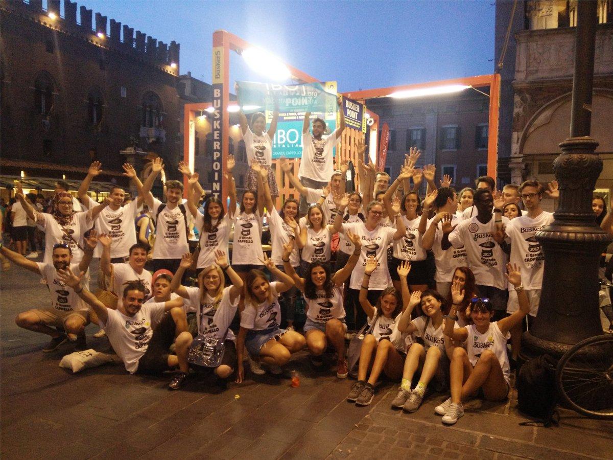 Vivi il Ferrara Buskers Festival 2018 da volontario IBO!