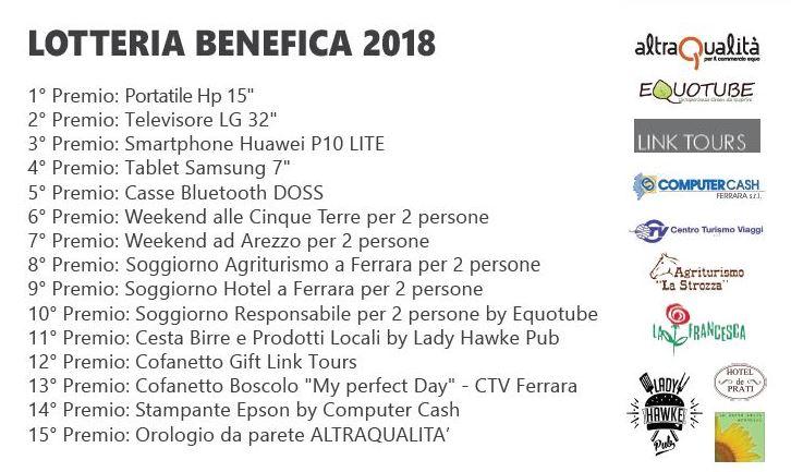 Lotteria Benefica 2018
